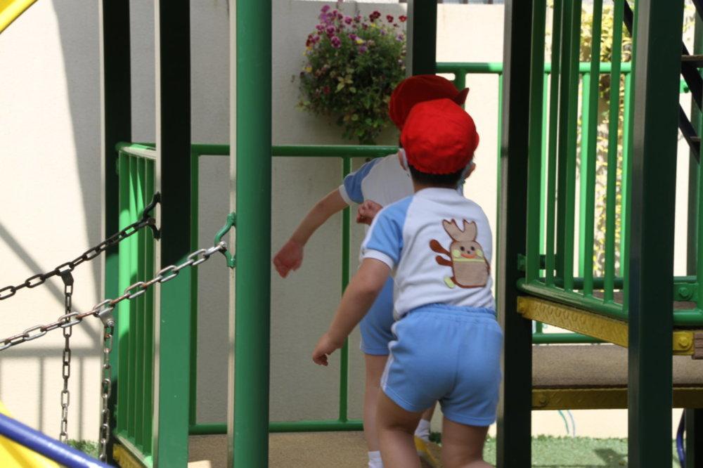 遊具 西高殿若葉幼稚園 にしたかどのわかばようちえん