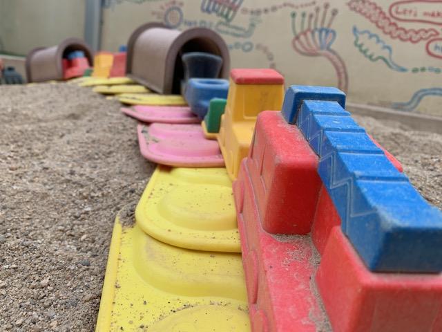 砂場 西高殿若葉幼稚園 にしたかどのわかばようちえん
