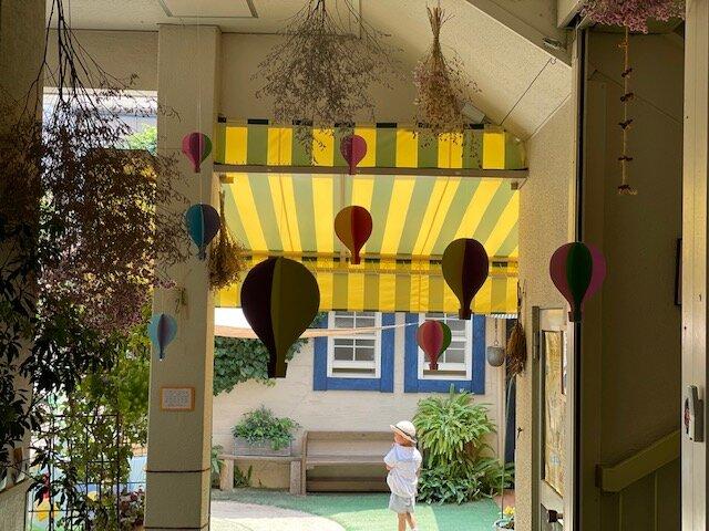 気球 西高殿若葉幼稚園 にしたかどのわかばようちえん